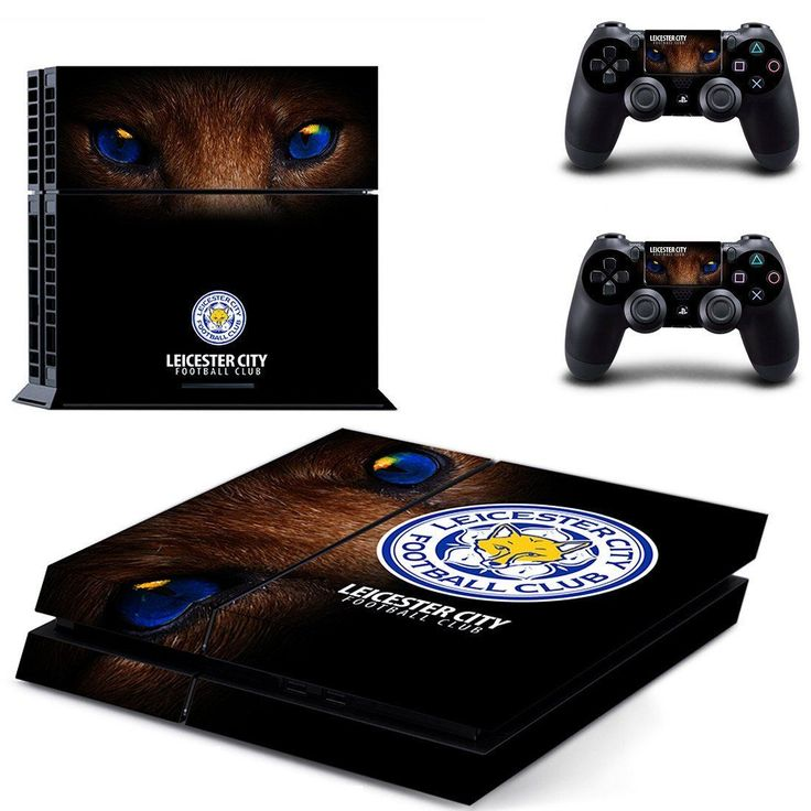 Leicester city FC ps4 skin for console and controllers