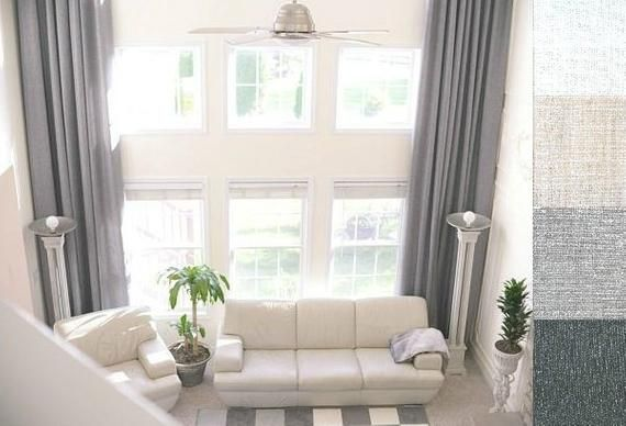 This Listing Is For 1 Panel Of Custom Made Drapes If You Need A Pair Of The Curtains You Have To Bu In 2020 Linen Curtains Extra Long Curtains Long Drapes Living Room