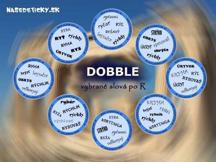 DOBBLE - vybrané slová po R
