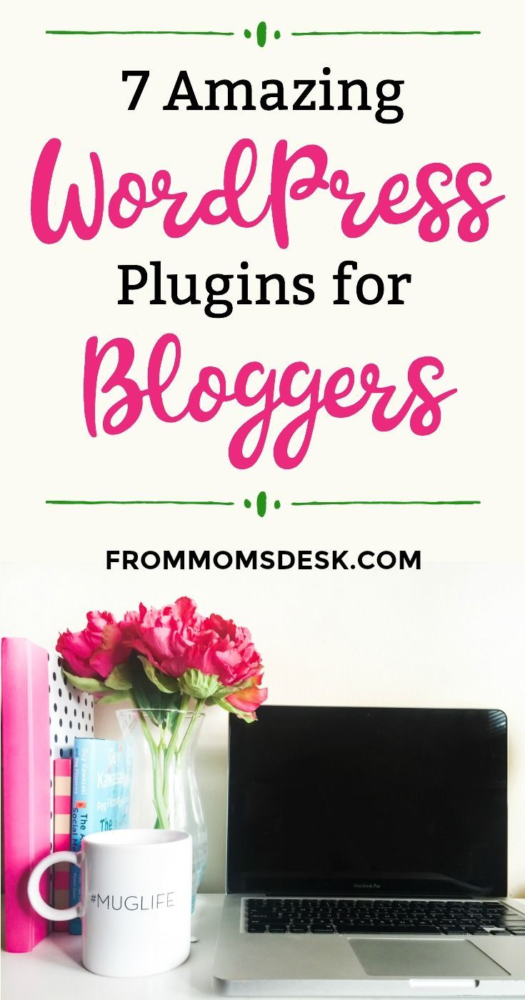 Best Wordpress Plugins for Bloggers - This handy list has really made my blogging life easier! They are great, even for beginners! via @keciahambrick