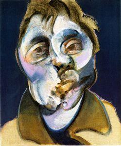 Francis Bacon   Self - Portrait 1969  Oil on canvas  www.francis-bacon.com