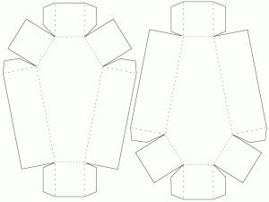coffin box template - bjl