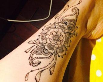Mandala tatouage etnische kunst Mandala Art door prosciuttojojo