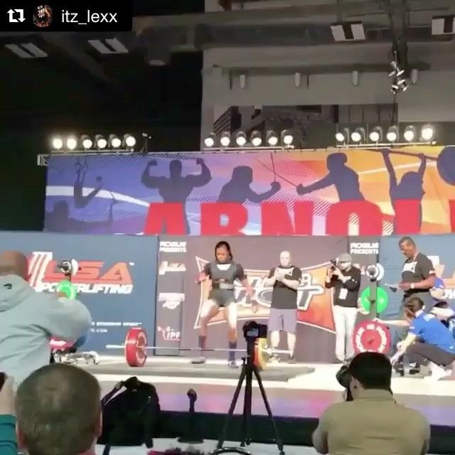 """Kimberly Walford on Instagram: """"#Repost @itz_lexx with @repostapp ・・・ 6x Arnold Sports Festival Heaviest Deadlift and highest Wilks (man or woman)...And another one for…"""""""