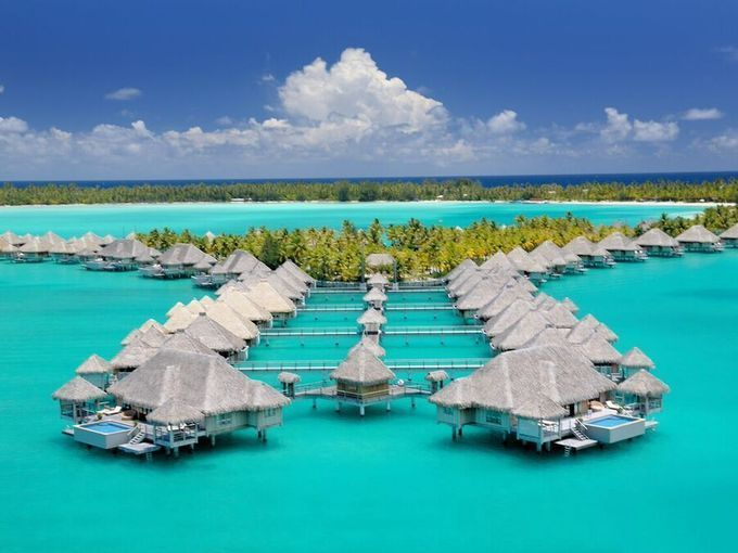 St. Regis Bora Bora is a honeymoon favorite and is