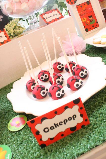 "Photo 7 of 10: Ladybug Garden / Birthday ""Little Lady Bug Giselle Turns One "" | Catch My Party"