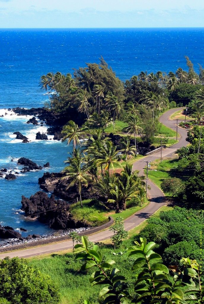 Along to Road to Hana on Maui. This beautiful and scenic drive is an incredible experience!