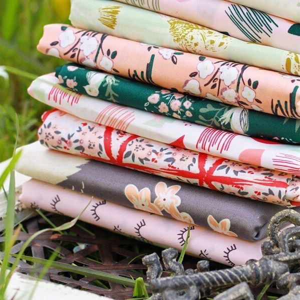 These fabric collection#HelloOllieFabrics is just perfect for sewing kids clothes! They are 100%organic and the softest fabric you will ever touch! . . . #artgalleryfabrics #helloolliefabrics #fabrics #organiccotton