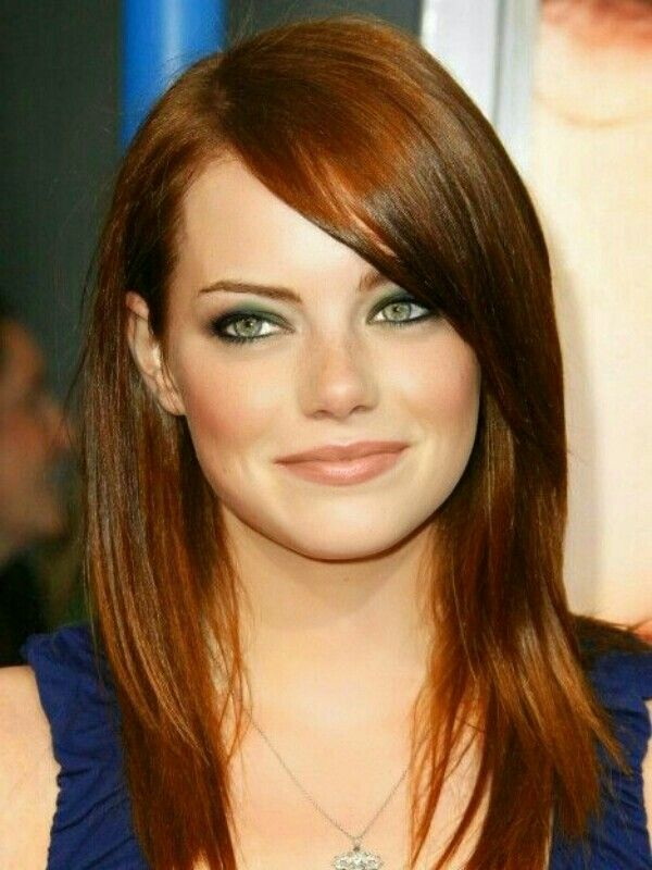 Emma Stone - I know she is a natural blonde but she is a gorgeous redhead! color