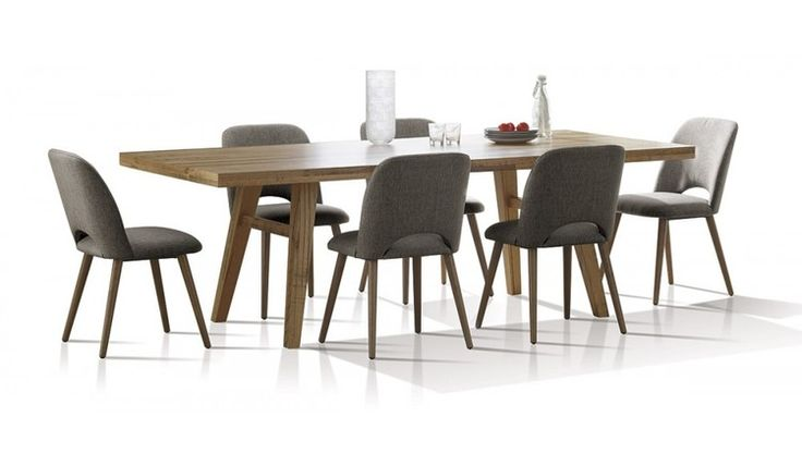 The Alice 7 piece dining suite is beautifully crafted in Tasmanian Oak featuring the individual natural character of the timber in a distressed finish.