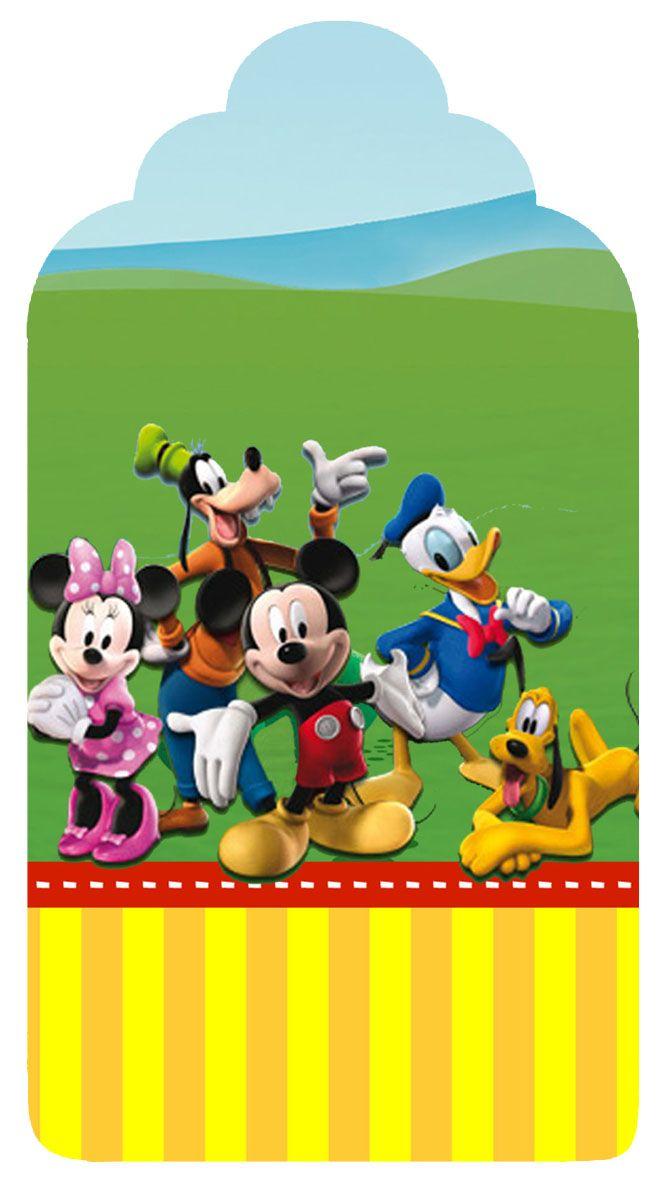 Montando a minha festa: A casa do Mickey Mouse