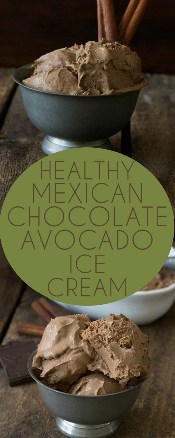 Low Carb Mexican Chocolate Avodaco Ice Cream, Keto, Ketogenics