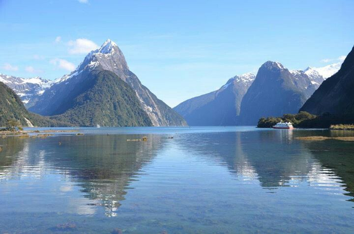 Milford Sound, NewZealand. If you like our photos, like us on FB www.facebook.com/trendstravel #MilfordSound #SouthernIsland #NewZealand