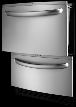 "Kenmore Elite® Double Drawer Stainless Steel Dishwasher 24"": Kenmore Elite Double Drawer Dishwasher"