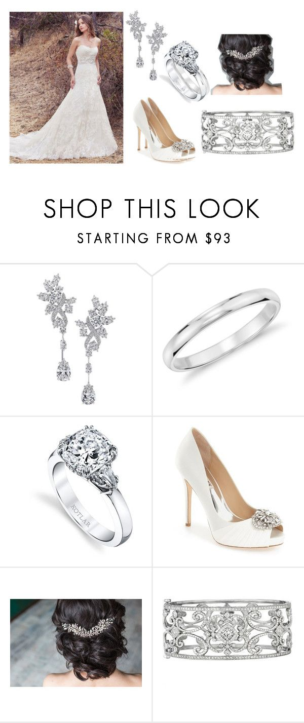 """Untitled #559"" by michelle-konner ❤ liked on Polyvore featuring Harry Winston, Blue Nile, Harry Kotlar, Badgley Mischka and Penny Preville"
