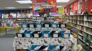 Great idea - have teachers pick books, not fill out slips. Makes it easier for parents - more books sell?