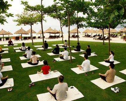 Center attendees and create a collective mindset through guided meditation sessions.
