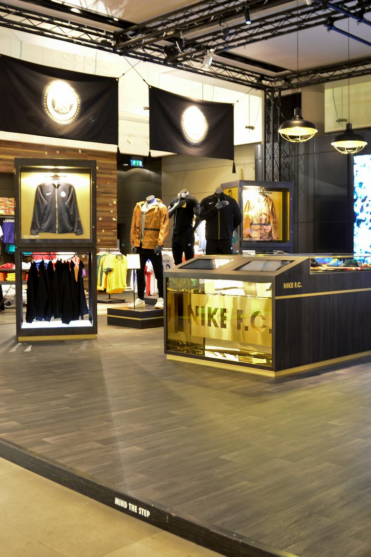 NIKE Retail Interior | Nike F.C. Niketown London | by Millington Associates  | Photography by Lucie