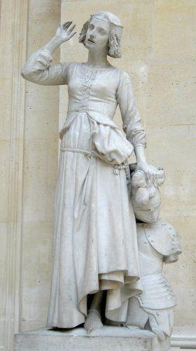François Rude : Jeanne d'Arc. Musée du Louvre. Paris I