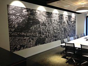 Custom Wallpaper - PICKAWALL Melbourne Office Vic