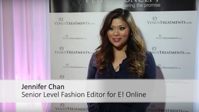 Jennifer Chan, Editor of E! Online, talks about her experience with Venus Concept.