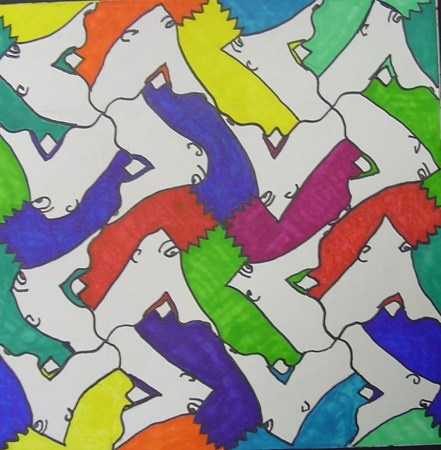 96 Best Images About Art Tessellations On Pinterest