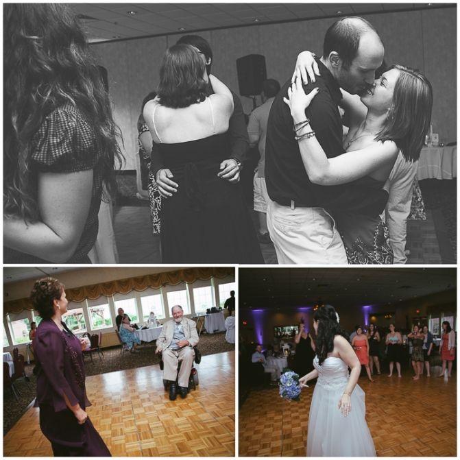 Wedding Dancing Massachusetts Photography Log Cabin Parents Dance To Their