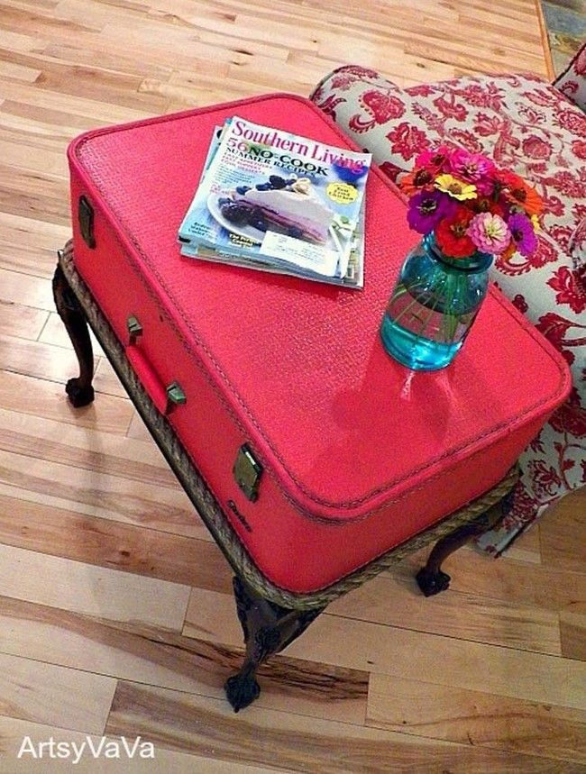 35 Best Upcycled Suitcase Projects Images On Pinterest