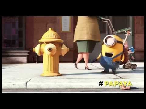 MINIONS - Papaya - YouTube