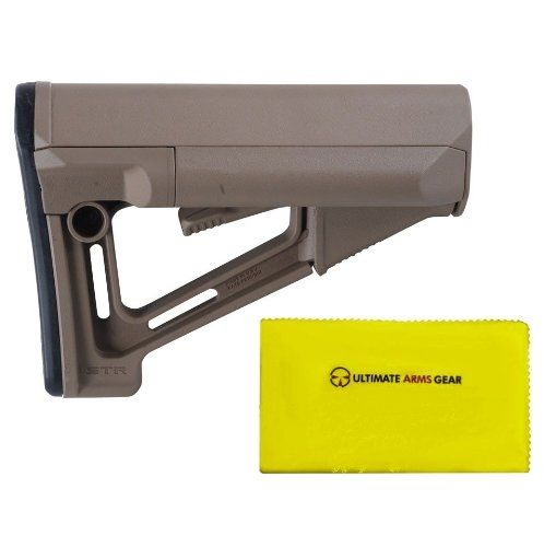 Magpul Industries MAG 470 STR Mil - Spec FDE Flat Dark Earth Tan + Ultimate Arms Gear Care and Reel Silicone Lubricated Cleaning Cloth  //Price: $ & FREE Shipping //     #sports #sport #active #fit #football #soccer #basketball #ball #gametime   #fun #game #games #crowd #fans #play #playing #player #field #green #grass #score   #goal #action #kick #throw #pass #win #winning