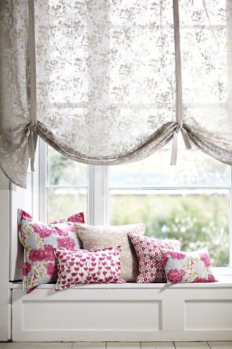 Beautiful new Tulipa fabric collection from Romo