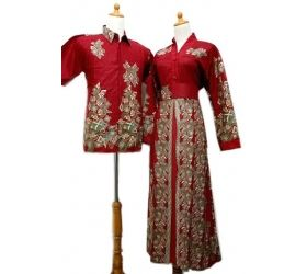 Batik Sarimbit Gamis SG076