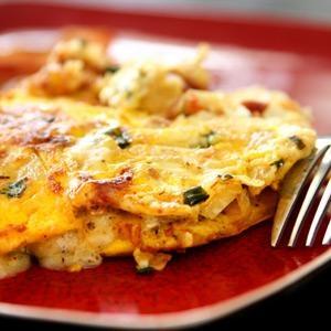 Ground Turkey Omelette