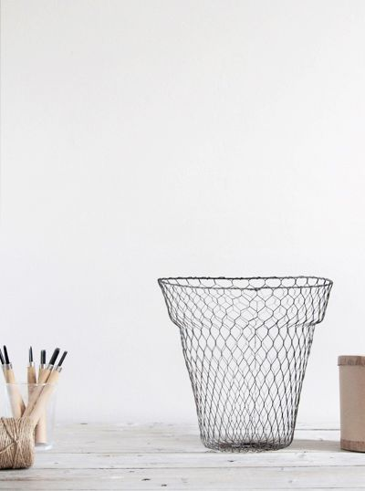 111 best Baskets in wire images on Pinterest | Wire, Wire baskets ...