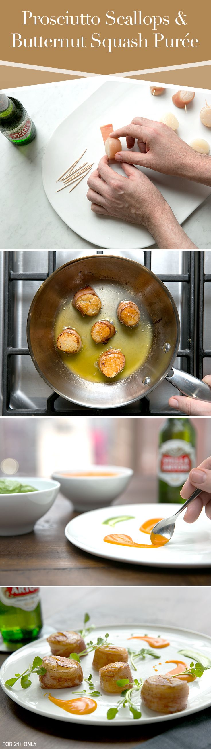 ... Food Recipes on Pinterest | Scallops, Sea bass and Tequila lime shrimp