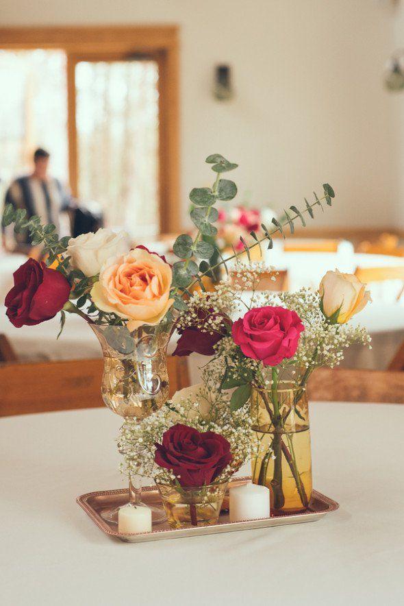 Best 113 Simple Wedding Centerpieces Images On Pinterest Flower