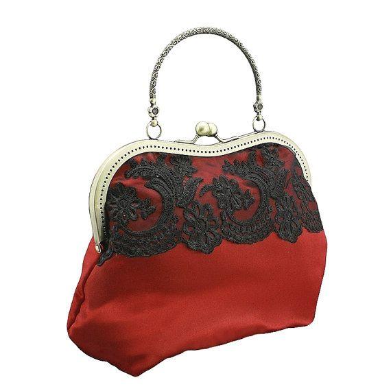 handbag in glamour formal or vintage style by FashionForWomen. https://www.etsy.com/listing/209268428/handbag-in-glamour-formal-or-vintage?ref=shop_home_active_7