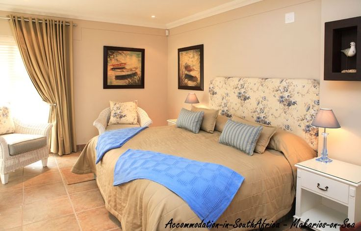 Beautiful rooms at Makarios on Sea. Self-catering accommodation in Herold's Bay. Herold's Bay Accommodation. Accommodation in Herold's Bay.