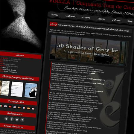 Amanda Carrington's 50 Shades Poem translated on Finilla - Well, today has been a fabulously crazy day here at VOE HQ. This morning, what started as a simple tweet to E L James (the Fifty Shades author) turned into a most exhilarating few hours here in London.