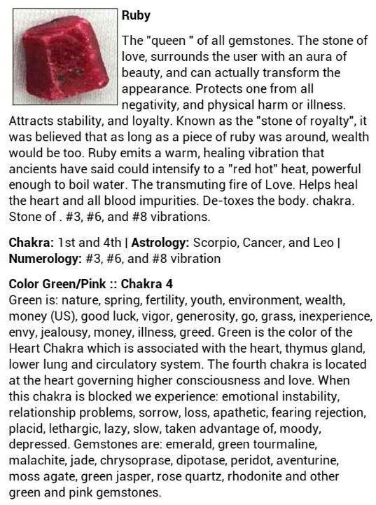 The Magick of Ruby – Witches Of The Craft®