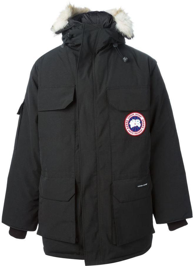 Canada Goose coats sale shop - �861, Parka noir Canada Goose. De farfetch.com. Cliquez ici pour ...