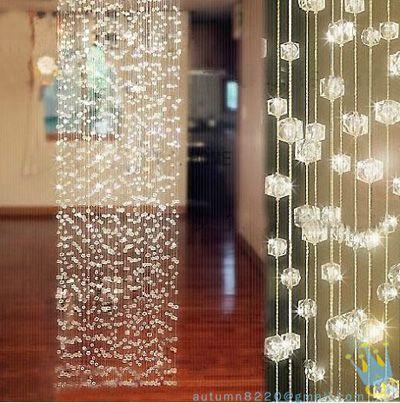 Cu9 cristal do grânulo cortina colhedores saguão casa decoração partição em Cortinas de Casa & jardim no AliExpress.com | Alibaba Group