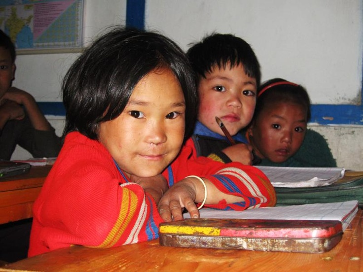 Children in Arunachal Pradesh