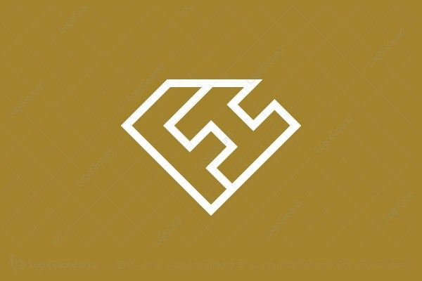 Fh Or Hf Logo Logo Fonts Logo Design Logos