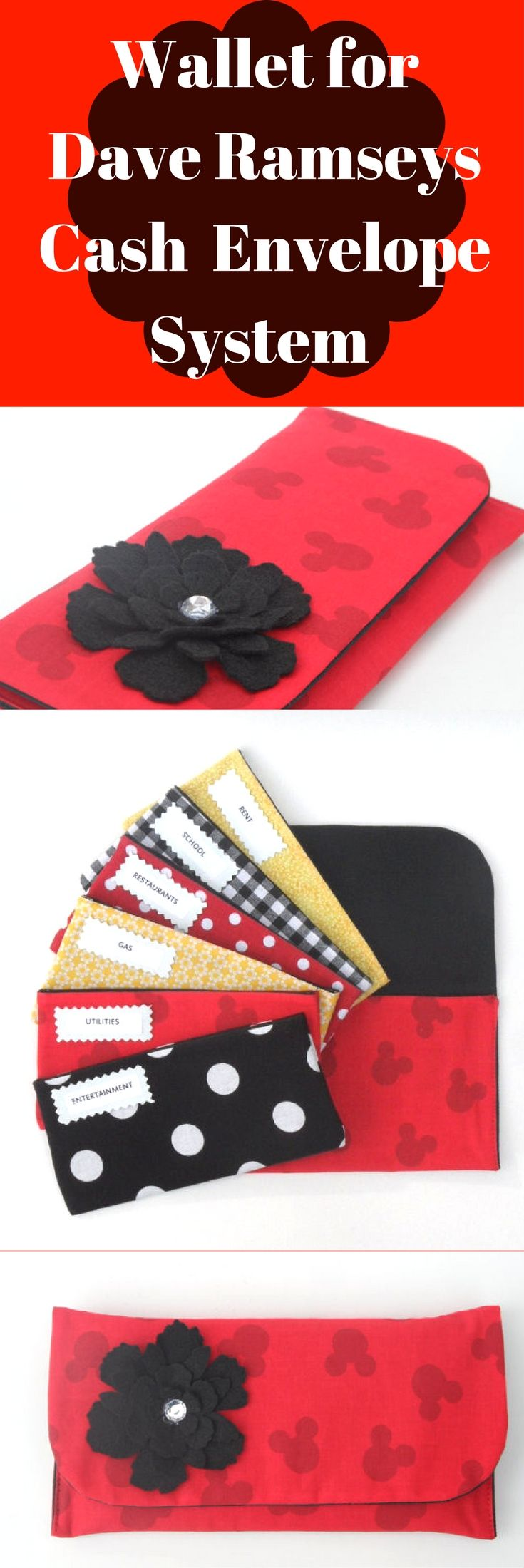 ♥**** This Cash Budget Envelope System is great for use with the Dave Ramsey System****♥ Cash Envelope Budget System is a great way to gain control of your spending and save your hard earned money!!!!! #daveramsey #cashenvelopesystem #organization #frugal #finance #budgeting #moneysense #affiliate