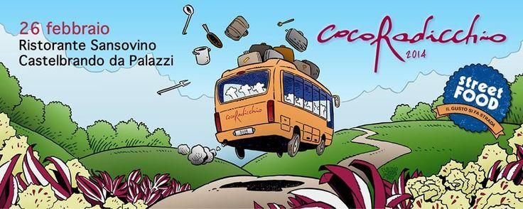 Mercoledì 26 febbraio #CocoRadicchio a #CastelBrando! Save the date!
