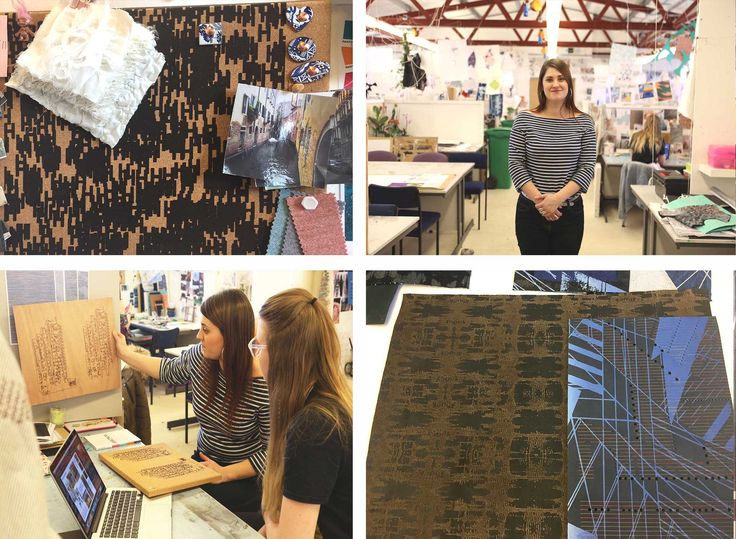 Tenn LTD prides their business ethic and Welsh heritage to work with and alongside surrounding artists and students in the local area. In this instance, Tenn's project manager Alice Burke retraced her steps back to her University of Trinity St. David – Swansea, where she studied for her degree and was an Artist in Residence for the Surface Pattern Design Course.