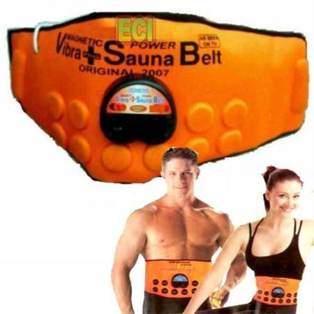 Buy Online Sauna slim belt As Seen On TV 3 in 1 Slimming Belt – Magnetic + Vibra + Sauna   Flexible Magnetic & Vibrating Sauna Belt In One Size Fits. Adjustable Heat Regulator Built In. To Power Cord Instruction Booklet And Diet Plan. Tape Measure Magnet therapy : improves blood circulation, thereby avoiding