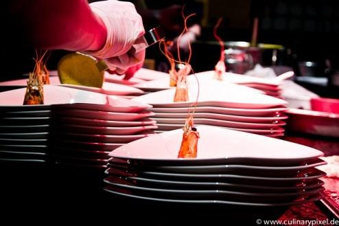 """Wagyu Dinner """"Big Beef Day"""" mit Lucki Maurer, (Langostinos) Restaurant Greenvieh, Alpenresort Schwarz, Mieming"""