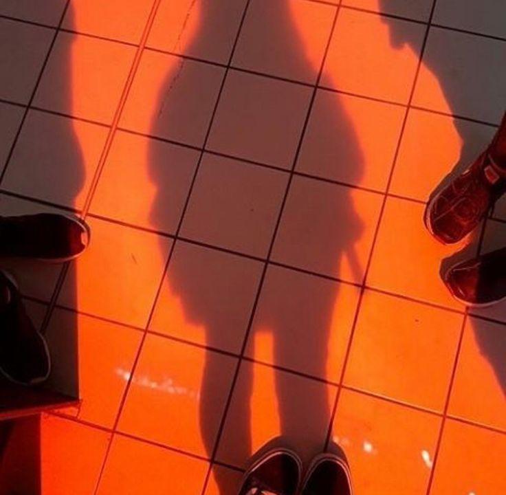 aesthetic grunge orange orangeaesthetic